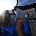 MERCY Malaysia continues its aid distribution even as the winter sun sets in the Bekaa Valley.